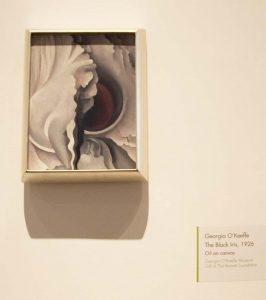 The Black Iris by Georgia O'Keeffe